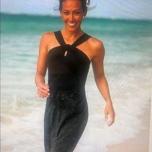 Athleta Royal Blue Beach Dress Size Small